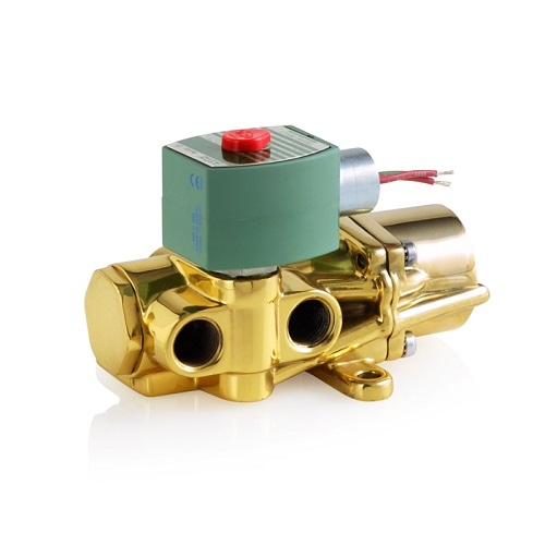 | Solenoid Valve - 4 Way: 4/2 - ASCO Series 344