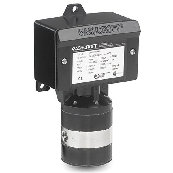 | Model No. D4__ Differential Pressure Switches
