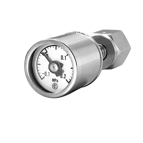 | Model No. GW28 Pressure Gauge for Semiconductor Industry