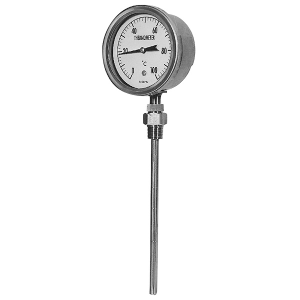 | Model No. RB__ Bimetal Thermometer